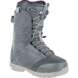 damskie buty snowboa NITRO - Cuda Tls Slate Grey - Purple (001) rozmiar: 39.3