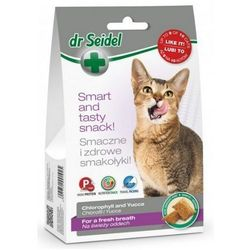 DERMAPHARM Smakołyki dla kotów na świeży oddech 50 g- RÓB ZAKUPY I ZBIERAJ PUNKTY PAYBACK - DARMOWA WYSYŁKA OD 99 ZŁ