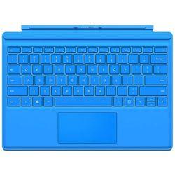 Microsoft Surface Pro 4 Type Cover R9Q-00096, klawiatura i etui do tabletu, jasnoniebieska