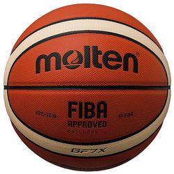 MOLTEN PIŁKA KOSZYKOWA - ATEST FIBA BGF7-X