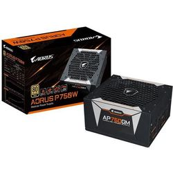 GIGABYTE AORUS P750W GP-AP750GM Zasilacz do komputera - 750 wat - 135 mm - 80 Plus
