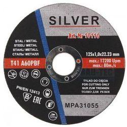 Tarcza do cięcia metalu 125 x 1mm SILVER