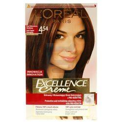 Loreal Paris Excellence Creme Farba do włosów Brąz Mahoniowo - Miedziany nr 4.54