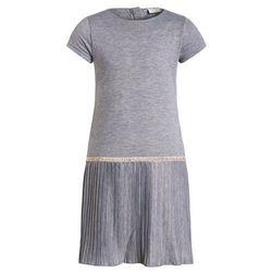 limited by name it NITGIBBI Sukienka z dżerseju grey melange