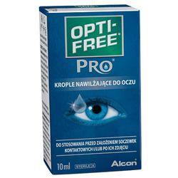 OPTI-FREE 10ml PRO Lubricant Eye Drops Krople nawilżające do oczu