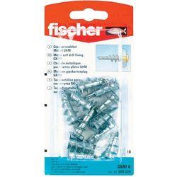 Wkręty do mocowania płyt gipsowo-kartonowych GKM Fischer 504330, zestaw