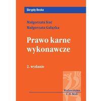 Prawo karne wykonawcze (opr. miękka)