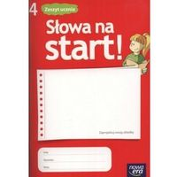 Słowa Na Start 4 Zeszyt Ucznia (opr. miękka)