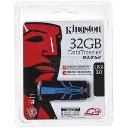 Pendrive Kingston DataTraveler R3.0 G2 USB 3.0 Czarno-niebieski 32GB - DTR30G2/32GB