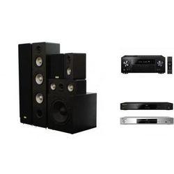 PIONEER VSX-831 + BDP-180 + TAGA TAV-406 + TSW-90 - Kino domowe - Autoryzowany sprzedawca