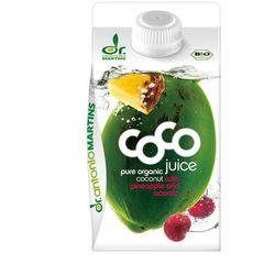 Woda Kokosowa z Acerolą i Ananasem 0,5L