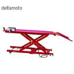 Podnośnik motocyklowy platformowy, hydrauliczno-pneumatyczny, 450kg