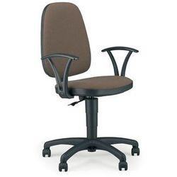 NOWY STYL Krzesło biurowe, obrotowe Adller gtp, czarno-niebieski