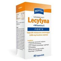 Lecytyna +witamina E Forte BIOTTER kaps. - 40 kaps.