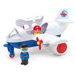 Samolot pasażerski z pilotem mix