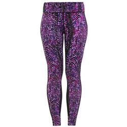 Nike Performance POWER EPIC LUX Legginsy cosmic purple/reflective silver
