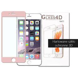 etuo.pl - szkło - Apple iPhone 6 Plus - szkło hartowane 3D - różowy