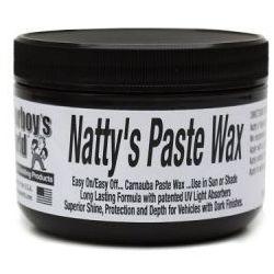 Poorboy's Natty's Paste Wax Black 227ml