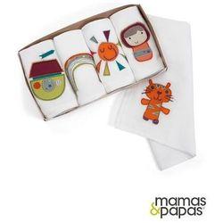 MAMAS&PAPAS Pieluszki muślinowe - opakowanie prezentowe, kolekcja Timbuktales