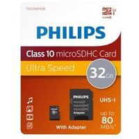 Philips FM32MP45B - flash memory card - 32 GB - microSDHC UHS-I