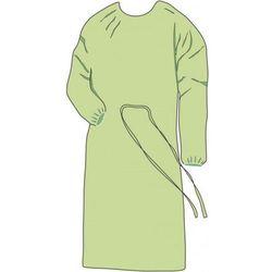 FARTUCH HIGIENICZNY z włókniny zielony 10szt L