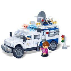 Klocki BanBao 8343 Wóz Patrolowy Policja 290el