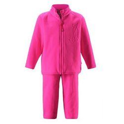 Komplet polarowy dwuczęściowy Reima ETMIN bluza/spodnie różowy