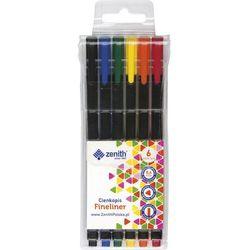 Cienkopis Zenith 6 kolorów