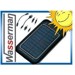 Ładowarka solarna 2600mAh + końcówki. GSM, MP3 itp