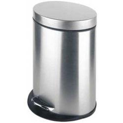 Kosz na odpady metalowy 5l owalny SNM