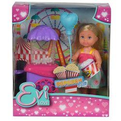 Simba, Evi i maszyna do popcornu, lalka z akcesoriami Darmowa dostawa do sklepów SMYK