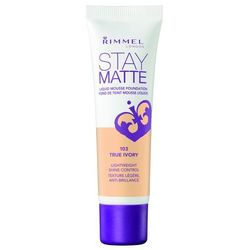 Rimmel Stay Matte Podkład matujący True Ivory nr 103 30 ml