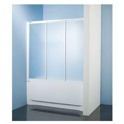 SANPLAST kabina nawannowa Classic 150 wnękowa szkło CR (parawan) DTr-c-W-150 600-013-2431-01-370
