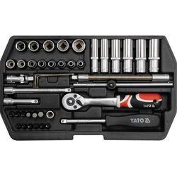 Zestaw narzędziowy YATO YT-1448 XS (42 elementy)