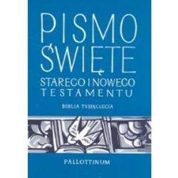 PISMO ŚWIĘTE Starego i Nowego Testamentu Biblia Tysiąclecia (duża) (opr. twarda)