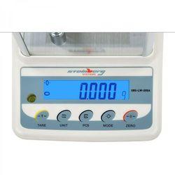 PRECYZYJNA WAGA LCD ZAKRES 0,2kg DOKŁADNOŚĆ 0,001g