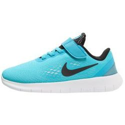 Nike Performance FREE RUN Obuwie do biegania neutralne hellblau/schwarz