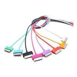 4world Kabel USB 2.0 do iPad / iPhone / iPod transfer/ładowanie 1.0m biały