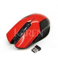 Vakoss TM-651UR Mysz bezprzewodowa czerwona