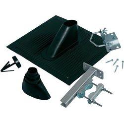 Zestaw dachowy do anteny satelitarnej, A.S. SAT, uniwersalny, czarny