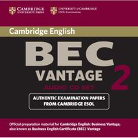 Cambridge BEC Vantage 2. CD do Podręcznika