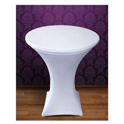 Pokrowiec elastyczny na stolik barowy PSB2 / biały