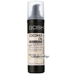 GOSH - COCONUT OIL MOISTURIZING HAIR OIL - Kokosowy olejek do włosów głęboko regenerujący - 50 ml