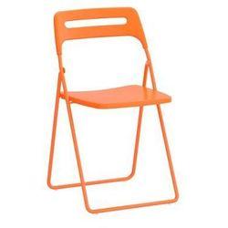 NISSE Krzesło składane pomarańcz