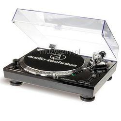 Audio Technica AT-LP120-HC gramofon z napędem bezpośrednim, czarny, interface USB + wkładka AT95 Płacąc przelewem przesyłka gratis!