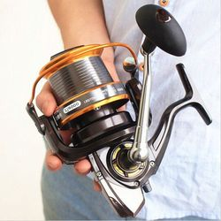 molinete Daiwa Like Fishing reel 9000 full metal wire cup Big long Shot sea salt water daiwa abu spinning reel carretilha pesca
