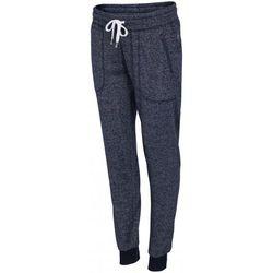 [T4L16-SPDD003] Spodnie dresowe damskie SPDD003 - granatowy melanż