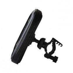 ART Uniwersalny uchwyt rowerowy na telefon/MP4/GPS (skóra) RAMART AX-16