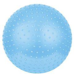 Piłka do masażu SAGGIO FIT śr.65 cm + pompka Spokey (niebieska)