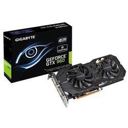 Gigabyte GeForce CUDA GTX960 4GB DDR5 128BIT DVI/DVI-D/HDMI/3DP